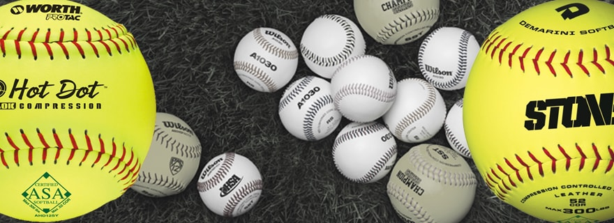 Softballs – Game Balls